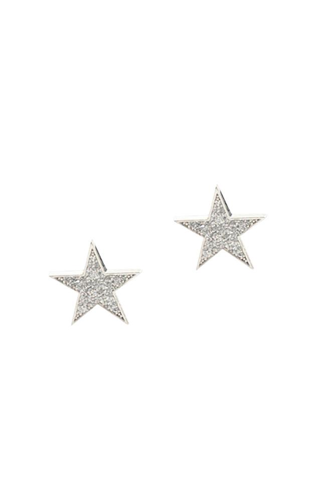 CZ Star Stud Earrings