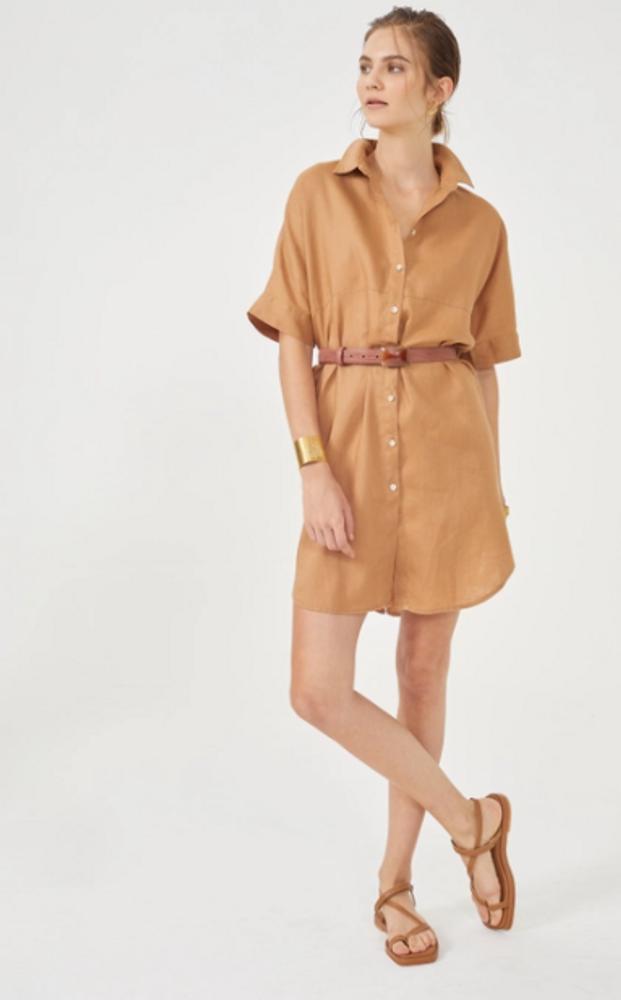 Alba Shirt Dress