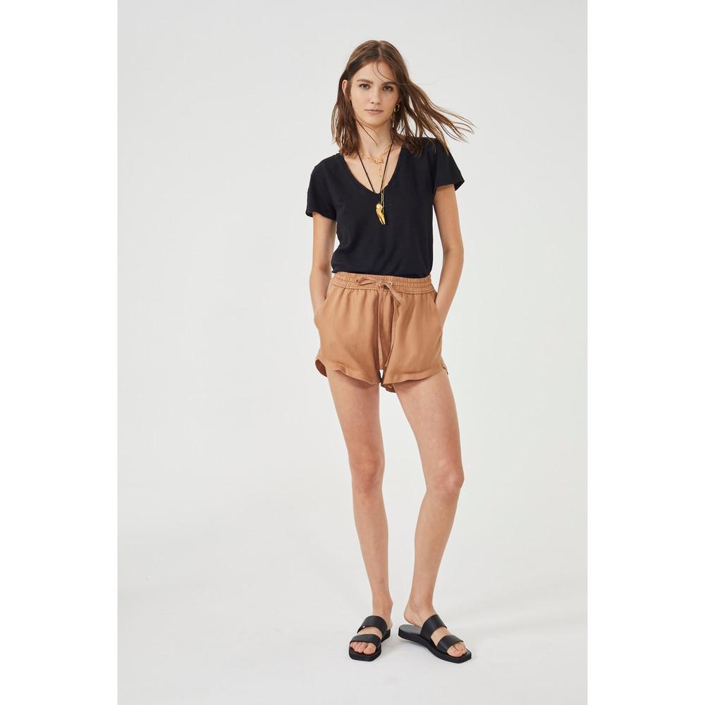 Elastic Drawstring Shorts