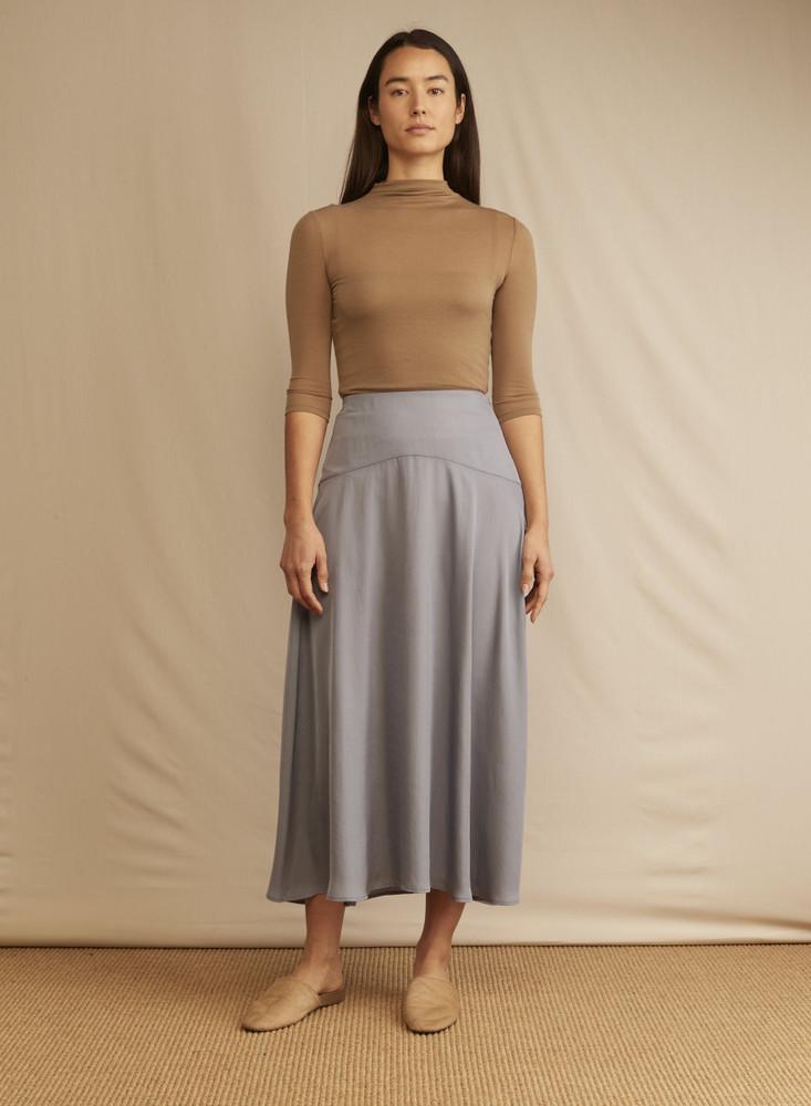 Panelled Flutter Skirt
