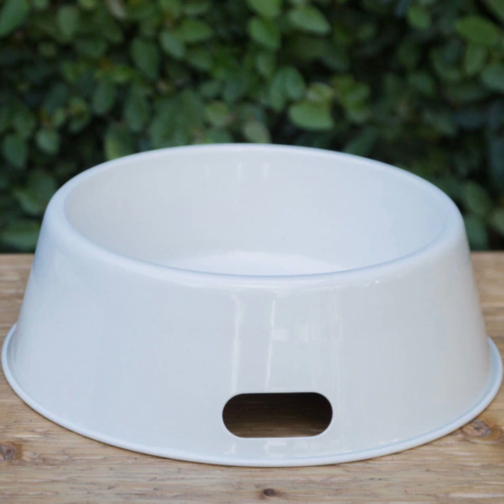 Enamelware Dog Bowl