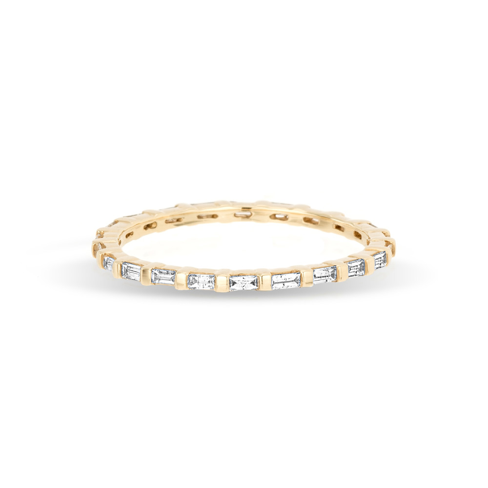 Baguette Eternity Band Ring - 7