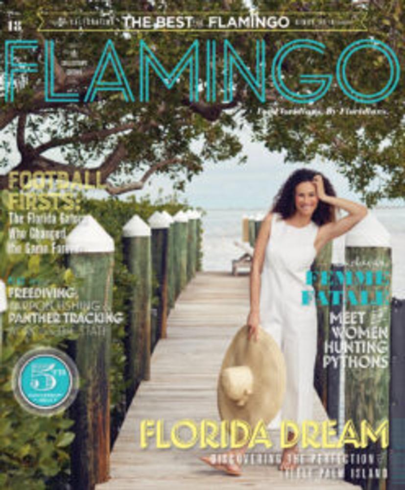 Flamingo Magazine Anniversary Issue No. 18 Collector's Edition