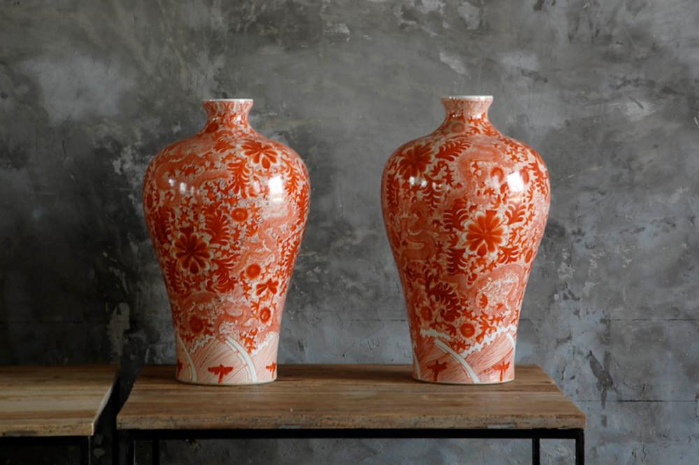 Hand Painted Elza Vase