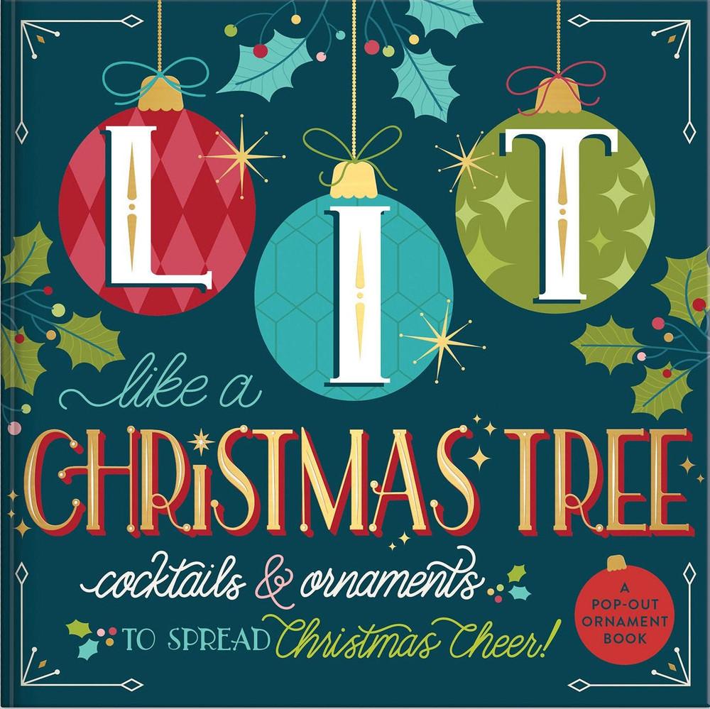 Ornament Book Lit Like a Christmas Tree