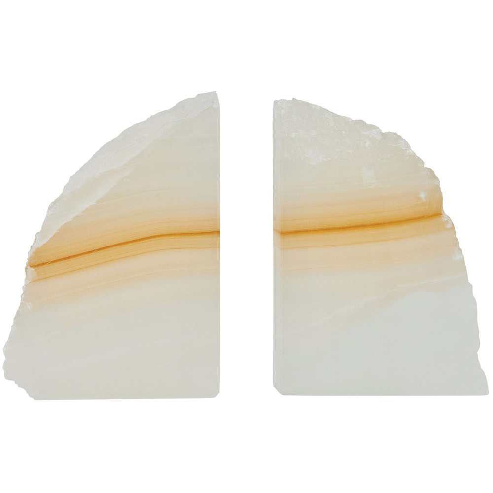 Bookends - Amber Onyx