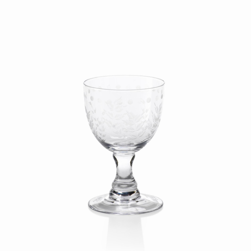 Bring an elegant touch to your next gathering by serving your guests in these classic glasses. Its unique floral design makes a great addition to your glassware collection.