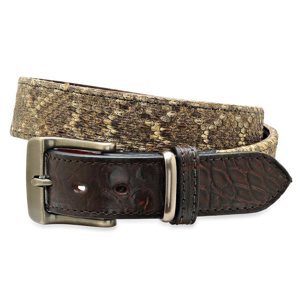 Diamond Back and Alligator Belt