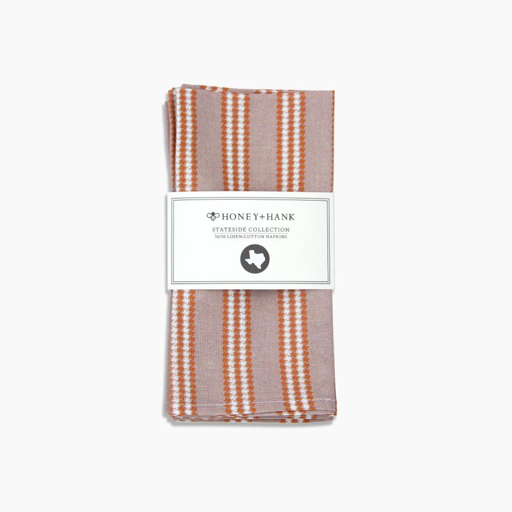 Texas Wide Woven Stripe Tea Towel