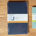 Set of 3 Blue Moleskine Cahier Journal