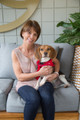 It's A Willa World! Read the story of a Marine who received a puppy for Christmas, and how that puppy changed his life!