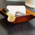 Our Ostrich Catch Tray is a stylish way to organize your valuables. Handmade with real ostrich.