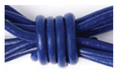 Royal Blue  A statement bracelet stack made easy! These skinny bangles feature brass beads on a leather bracelet available in a variety of colors.  Handmade in Seattle, Washington with environmentally friendly leather these bangles are a great to give to a girlfriend and yourself!
