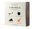 Chewy, salty, and sweet McCrea's Candies produces some of the finest caramel in America. The party box offers a selection of their 4 top flavors – Classic Vanilla, Black Lava Sea Salt, Deep Chocolate and Tapped Maple - wrapped individually and ready to share – or not! 10 pieces each flavor (40 pieces total). Packaged in gift box.