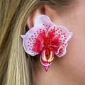 Orchid Earring