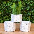 Terrazza Hex Vase - Large