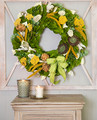 Radiant Wonders  Each leaf is hand chosen to piece together one of these beautiful wreaths. The magnolia leaves dry beautifully so you can continue to enjoy them for seasons to come.