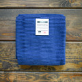 Indigo   You've finally found the kitchen towel you've been searching for. The ripple towel is perfect, size, absorbent, good looking but also minimal, everything you could ever want in a dish towel. Available in array of vibrant colors to match your space perfectly, we promise you will never buy another type of dish towel after this.