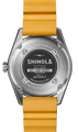 A Shinola, that can go anywhere with you. The Duck Watch, with its 20 ATM depth rating has the functionality of an adventure's timepiece with the classic style of Shinola. Created to be roughed up, well-loved, and dragged through the mud then rinsed off and dressed up for a night on the town, the perfect watch for any adventure enthusiast. The expandable rubber strap provides ultimate comfort while you're living life to the fullest, it also offers drilled lugs for easy strap replacements so you can swap straps to match you swimsuit.