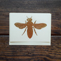 Each card in handmade with gold leafing to create a stunning presentation. Accompanied by matching envelope.