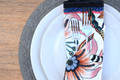 A simple and elegant addition to any table - the Naiya Round Placemat offer the perfect amount of texture. They are hand crocheted in the Philippines from natural Abaca, with a denser outer band and a criss-crossed center an organic graphic style is achieved.