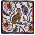 Leopard - Frost   The perfect accent to any place setting! The ardmore napkins feature vibrant and whimsical depictions of the natural life in South Africa.