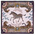Bush Bandits - Stone  The perfect accent to any place setting! The ardmore napkins feature vibrant and whimsical depictions of the natural life in South Africa.