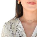 Enya Dress - Sand Combo