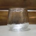 Hammered Stemless Wine Glass