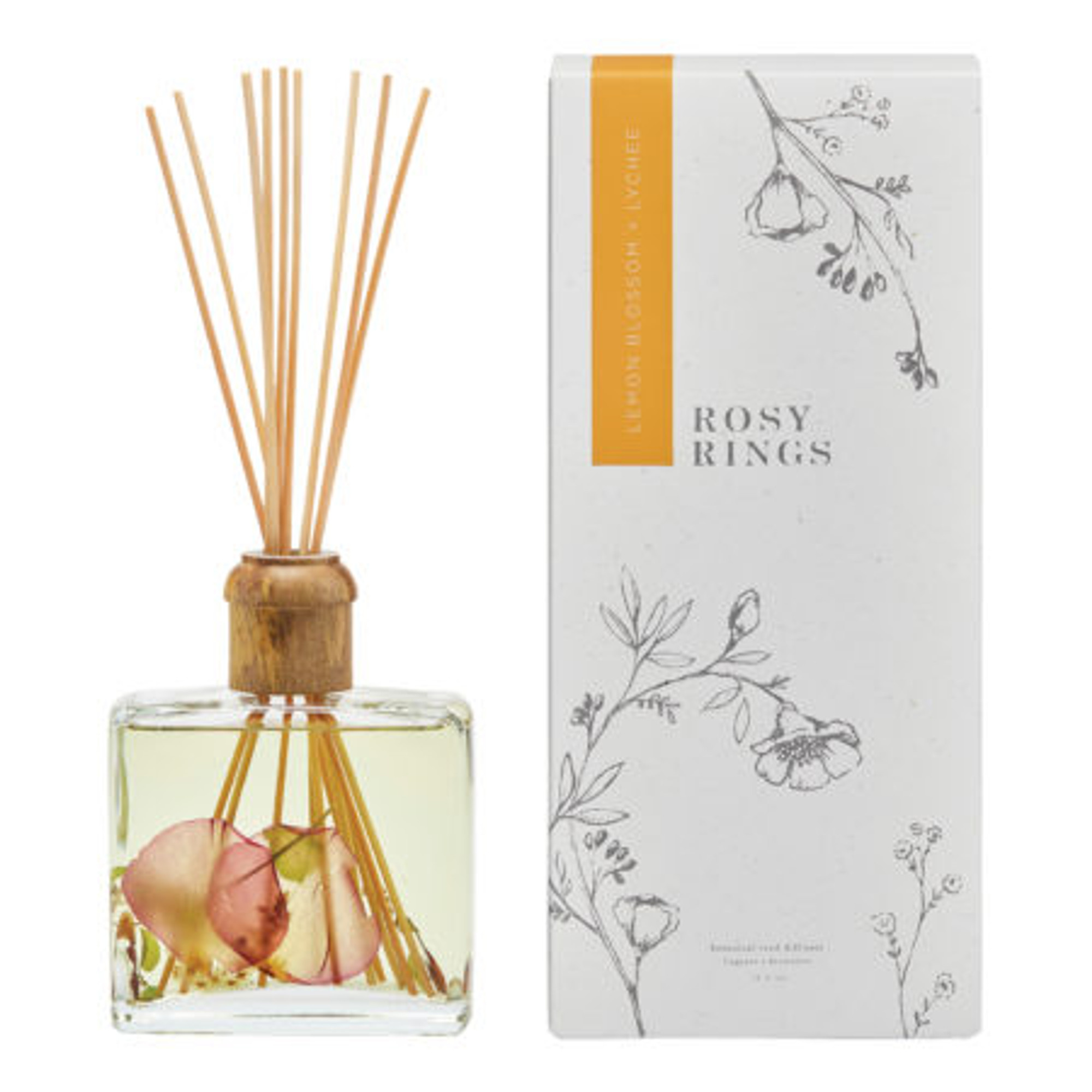 Rosy Rings Botanical Reed Diffuser Hearth And Soul