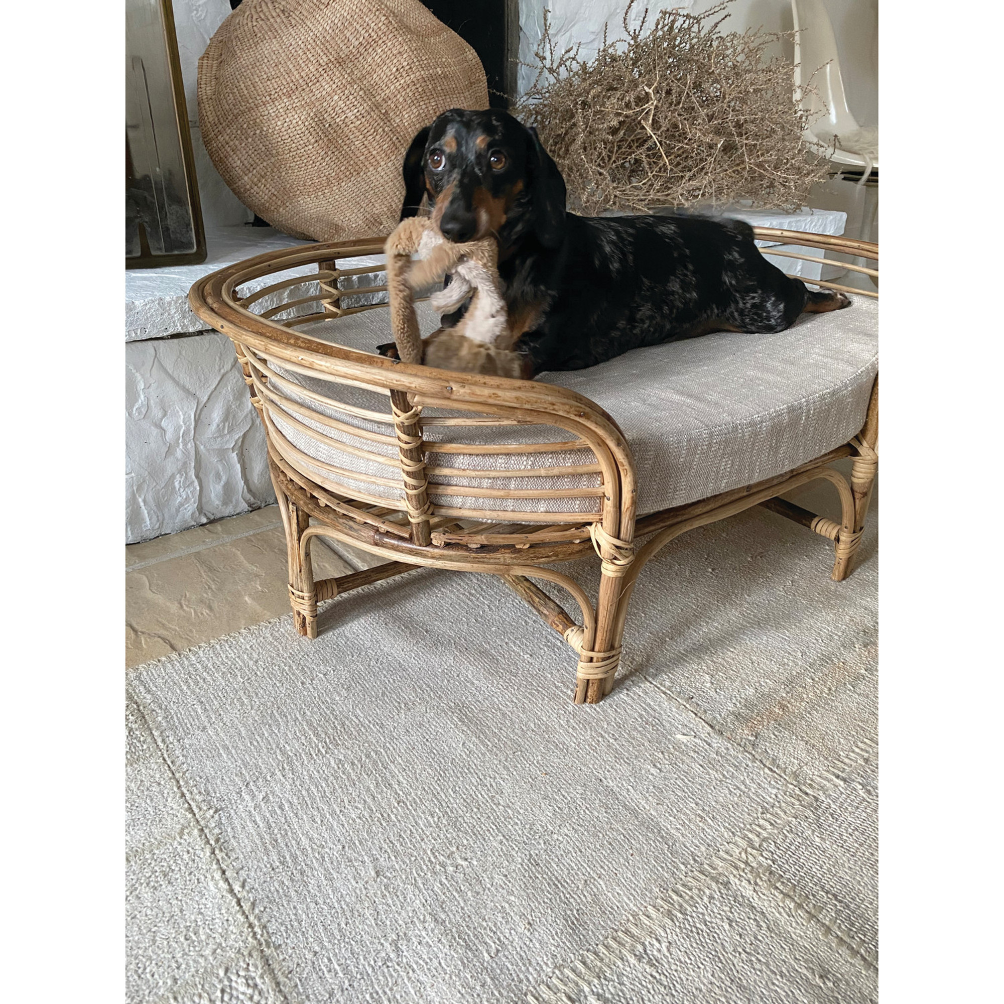 Rattan Dog Bed Hearth Soul