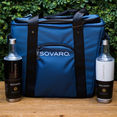Get ready, jet set, go. whether you're soaking up the surf and sun from the shore of a faraway beach or exploring the ins and outs of an exotic and unfamiliar city, the Sovaro soft-sided cooler is built to be by your side and keep your drinks chilled to perfection.