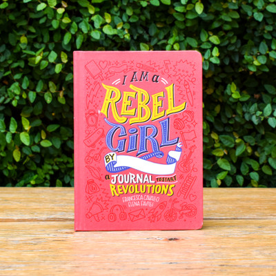 From the publishers of Good Night Stories for Rebel Girls, I Am a Rebel Girl: A Journal to Start Revolutions is designed for girls of all ages to train and explore their rebel spirits! I Am a Rebel Girl creates a space for big ideas, helping girls develop the tools they need to lead the revolution of our time.