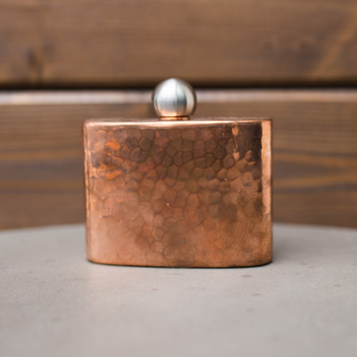 Petite Hip, for his sports coat or her purse. Heavy gauge, hand-crafted, made to last for generations.