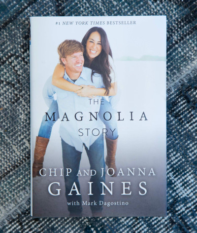 The Magnolia Story is the first book from Chip and Joanna, offering their fans a detailed look at their life together. From the very first renovation project they ever tackled together, to the project that nearly cost them everything; from the childhood memories that shaped them, to the twists and turns that led them to the life they share on the farm today.