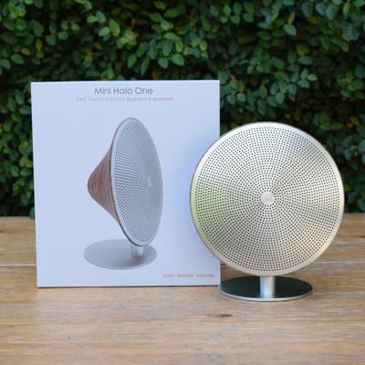 Mini Halo Speaker - Walnut