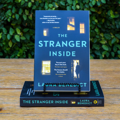 "A woman returns home to find a stranger living in her house in this ""suspenseful and moving"" psychological drama from an Edgar Award-nominated author (Meg Gardiner) -- perfect for readers of Shari Lapena and Liane Moriarty. There's a stranger living in Kimber Hannon's house. He tells the police that he has every right to be there, and he has the paperwork to prove it. But Kimber definitely didn't invite this man to move in. He tells her that he knows something about her, and he wants everyone else to know it, too. ""I was there. I saw what you did."" These words reveal a connection to Kimber's distant past, and dark secrets she'd long ago left buried. This trespasser isn't after anything as simple as her money or her charming Craftsman bungalow. He wants to move into her carefully orchestrated life -- and destroy it."