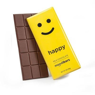Moodibar - 3 oz - Happy - Milk Chocolate
