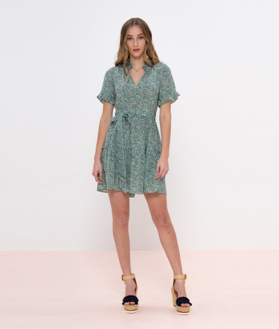 New York cool meets feminine chic in this airy tiered silk dress. Pair yours with slides or sneakers or dress up with wedges for date night.