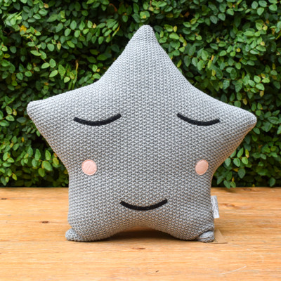 Adorable and cozy this rosy cheeked star is sure to make you smile.