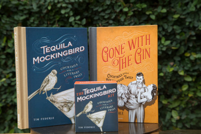 65 excellent cocktail recipes for the lovers of wit and classic novels.