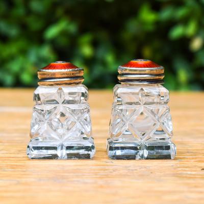 Vintage Norwegian Salt & Pepper Shakers