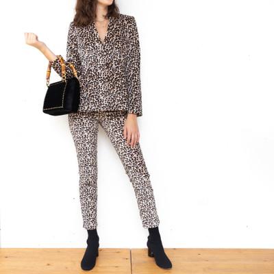 Leopard Velvet Pant