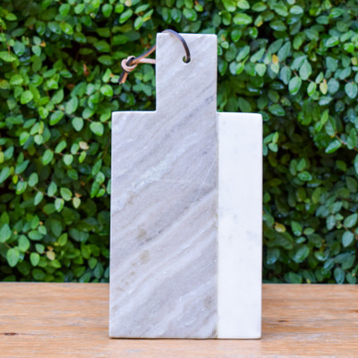 "Marble Cheese Board - 12""x6"""