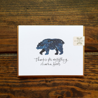 "A simple and meaningful card for the one who raised you. This card is made in the USA, blank inside, and is accompanied by a kraft envelope.  Size: 4.25"" x 5.5""  Interior: Blank"