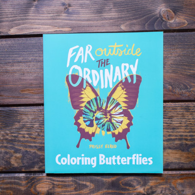 "These Coloring Books for grownups are a perfect companion to her Far Outside the Ordinary memoir. As you color these beautifully designed scenes, you're able to indulge your creative freedom and relax your overworked mind. The book is designed to allow you to choose your favorite colorful marker, gel, pencil, or pen. The heavy stock page is easily removed and fits into a standard 8"" x 10"" frame. Each book contains 48 black-and-white drawings, 144 drawings total in the set that you can color to create your own art."