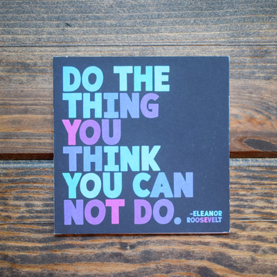 Do the Thing Card