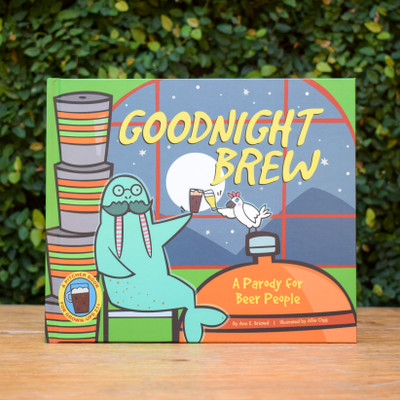"It's closing time at the brewery. While the moon rises, the happy crew sings and dances as they wind down for the day. Join them in saying goodnight to the beer-making equipment, brew ingredients, and styles of suds.  This humorous parody of a children's literature classic is a ""pitcher book"" for grown-ups. It's the perfect anytime story for beer lovers everywhere!"