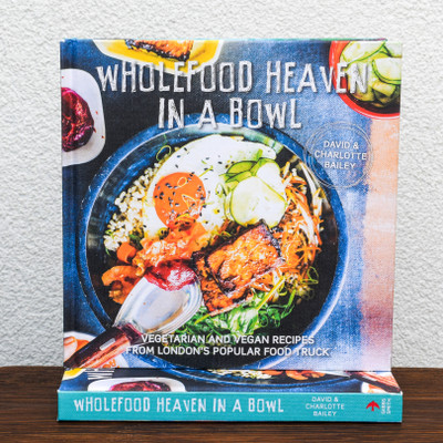 A 'wholefood' is a food that has been processed or refined as little as possible and is free from additives or other artificial substances. David and Charlotte Bailey serve only nutritious wholefoods from their street-food van, Wholefood Heaven, as they tour the country and travel worldwide in search of recipes and inspiration for new and exciting flavours. Their food is informed by the need to live well and be both mindful of and uplifted by what you put in your body. This book is a celebration of naturally healthy, unprocessed ingredients and flavours from around the world. Featuring 60–70 recipes for wholesome vegetarian and vegan meals, including breakfasts and drinks, many of the recipes are presented as easy-to-eat bowl-food (all the nutrients you need for a healthy meal in one), or can be cooked in a single pot (ideal if you are away holidaying or camping at a festival). Featuring plenty of information on the benefits of grains, cereals, pulses, nuts, seeds and fruit and veg, the recipes offer a full range of enticing meals, drawn from an international repetoire. Start the day with delicious Quinoa Porridge with Vanilla-Spiced Almonds and Dates, move on to a lunch of Coconut and Sweet Potato Polenta Cakes with Wild Mushrooms and Asian Greens, and finish the day with an Ethiopian Teff and Butternut Squash Stew, or Yucatan Salbutes, finished off perfectly with a dessert of Spelt and Olive Oil Lemon Cake. This mouthwatering array of recipes will be the only inspiration needed to live a healthier lifestyle.