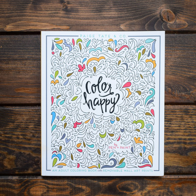 Enjoy this new inspirational coloring book from illustrator Lindsay Hopkins!